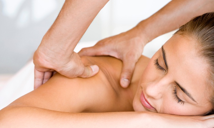 In Touch Hair & Spa - South Philadelphia West: Massage, Facial, and Body Wrap Packages at In Touch Hair & Spa (Up to 57% Off). Three Options Available.