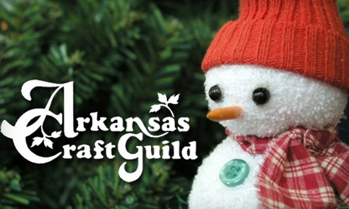 Arkansas Craft Guild - Downtown: $5 for Two Admissions to the Arkansas Craft Guild Christmas Showcase