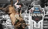 Professional Bull Riders World Finals - Paradise: Ticket to One Day of the Professional Bull Riders World Finals. Choose from Three Seating Options and Multiple Dates.