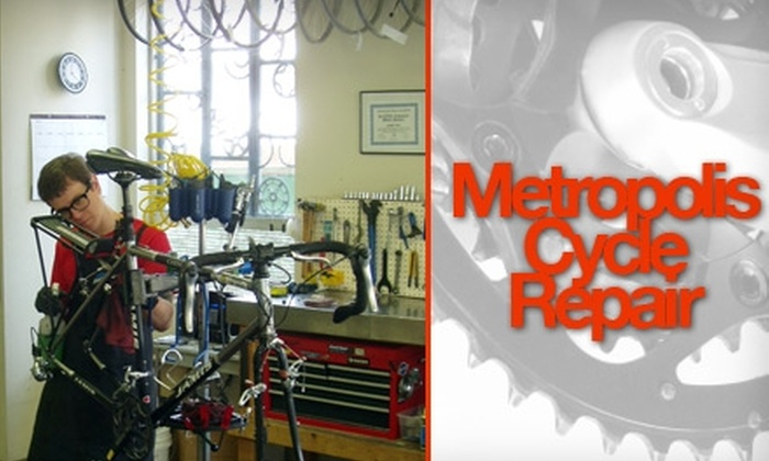 Metropolis Cycles - Eliot: $25 for a Basic Tune-Up at Metropolis Cycles ($60 Value)