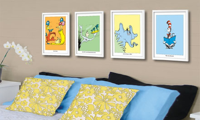 Seuss Prints: Limited-Edition Unframed or Framed Dr. Seuss Prints from Seuss Prints