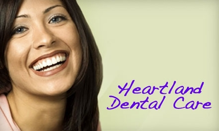 Heartland Dental Care Columbus - Multiple Locations: $45 for a Comprehensive Dental Exam, X-rays, and Teeth Cleaning from one of Heartland Dental Care's Two Gahanna Offices ($338 Value)