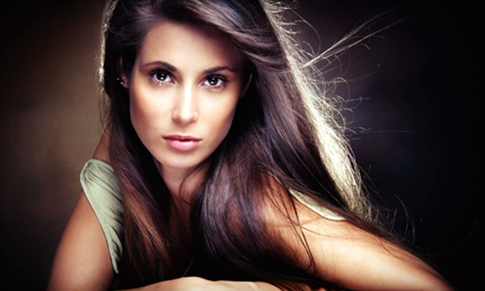 Isaac Salon - New York City: $59 for Master-Level Cut, Blow-Dry, Style, and High Gloss Treatment at Isaac Salon (Up to $200 Value). Half-Highlight and Full-Highlight Options Available.
