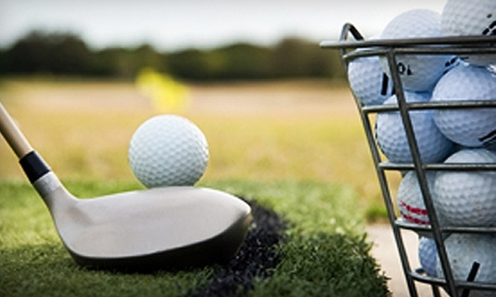 Mariners Landing Golf - Lakes: $22 for 18 Holes of Golf, Cart Rental, and One Bucket of Balls for the Driving Range at Mariners Landing Golf (Up to $51 Value)