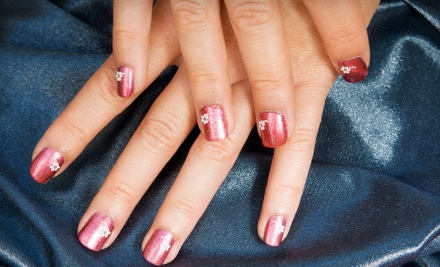 Shellac Manicure (a $25 value) - Nails By Ashley @ Hideaway Salon in Broken Arrow