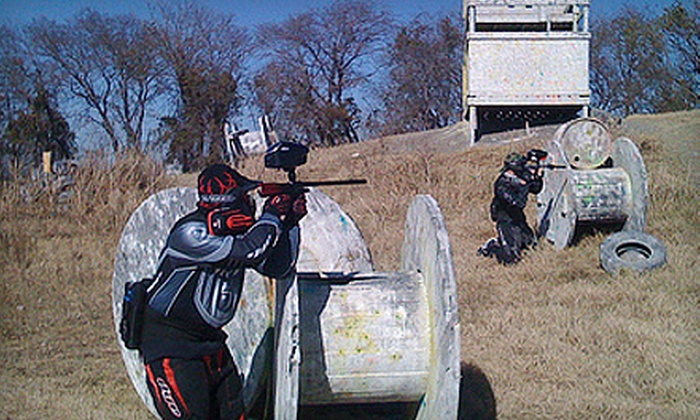 Fort Paintball - Parker: Paintball Outing for Two or Four With All-Day Admission, Gear, and Paintballs at Fort Paintball in Allen (Up to 54% Off)