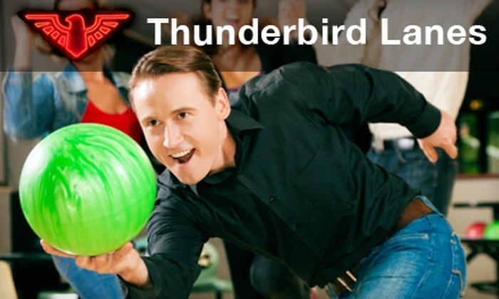 Thunderbird Lanes - Detroit: $5 for Three Games of Bowling and Shoe Rental at Thunderbird Lanes (Up to $14.25 Value)