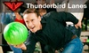 *OOB* Thunderbird Lanes - Maple Road: $5 for Three Games of Bowling and Shoe Rental at Thunderbird Lanes (Up to $14.25 Value)
