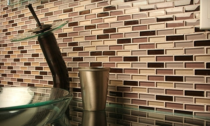 Glass Tile Oasis: $50 for $100 Worth of Tile from Glass Tile Oasis