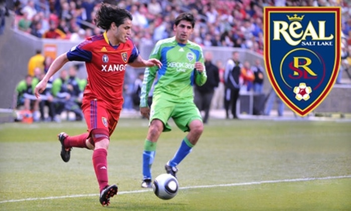 Real Salt Lake - Sandy: Tickets, Souvenirs, Hot Chocolates, and Parking Pass to Real Salt Lake CONCACAF Champions League Quarterfinal Match in Sandy