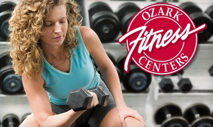 Ozark Fitness Centers - Multiple Locations: $15 for a Six-Week Membership at Ozark Fitness Centers ($186 value). Two Locations Available.