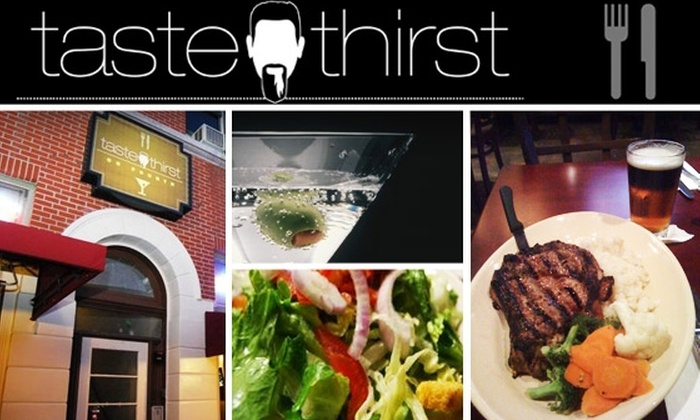 Taste and Thirst - Gaslamp: $15 for $31 Worth of Sips and Savories at Taste and Thirst