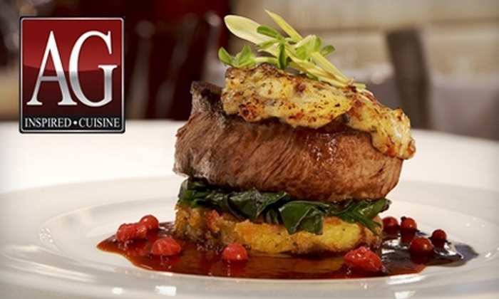 AG Inspired Cuisine - Niagara Falls: $20 for $40 Worth of Locally Sourced Gourmet Fare at AG Inspired Cuisine