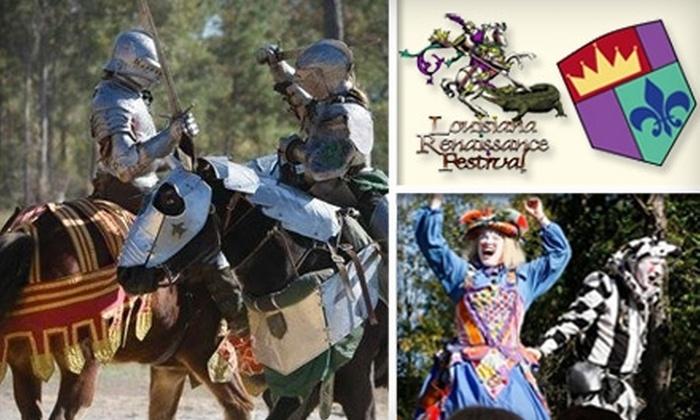Louisiana Renaissance Festival - 2: $14 for Two Adult Admissions to the Louisiana Renaissance Festival in Hammond