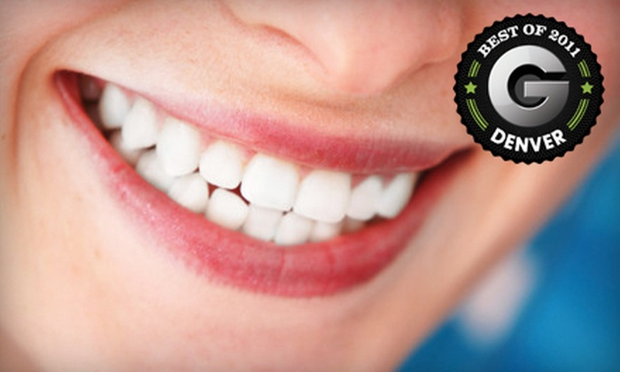 Cara Bella Studio - Greenwood Village: $98 for an Express White Smile Laser Teeth-Whitening Treatment at Cara Bella Studio in Greenwood Village ($249 Value)