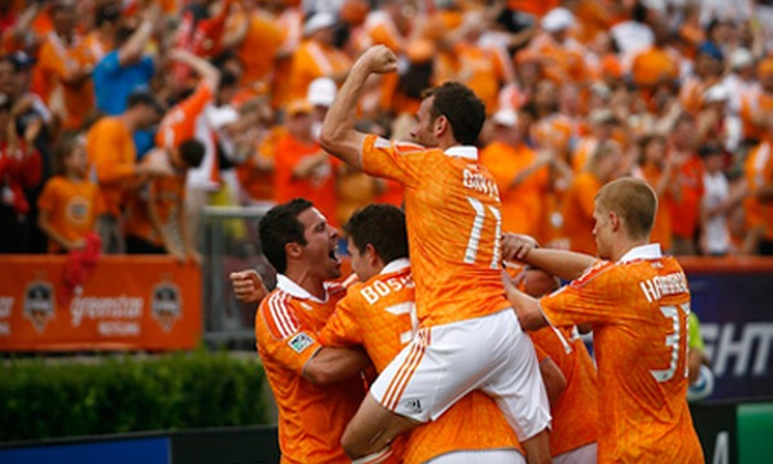 Houston Dynamo - Greater Third Ward: $20 for One Upper-Endline Seat and Commemorative T-Shirt to the Houston Dynamo Charities Cup on July 20 (Up to $52.58 Value)