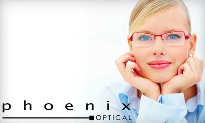 Optical Works - Rockridge: $100 for $200 Worth of Eyewear at Phoenix Optical in Oakland
