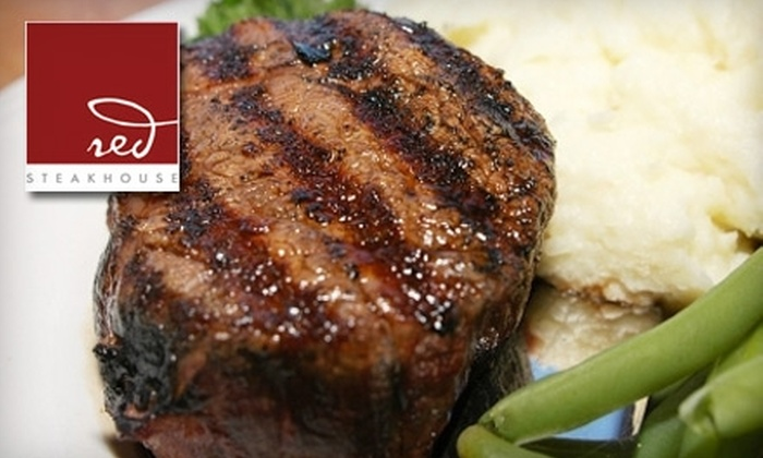 red Steakhouse - Paradise: $25 for $50 Worth of Upscale Fare at red Steakhouse at the Mount Airy Casino in Mount Pocono