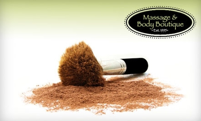 Massage & Body Boutique: $25 for $50 Worth of Skin and Body Products from Massage & Body Boutique