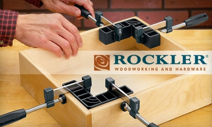 Rockler Woodworking and Hardware - Sandy Springs: $10 for $20 Worth of Hardware and More at Rockler Woodworking and Hardware in Sandy Springs