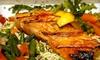 Omonia Restaurant - OOB - Greektown: $20 for $40 Worth of Greek Fare and Drinks at Omonia Restaurant