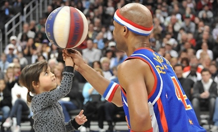 Harlem Globetrotters on Sun., Mar. 13 at 6PM: Lower/Club Level Seating - Harlem Globetrotters in Philadelphia