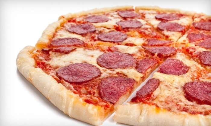 Bari Pizzaria - Laurel Greene: $8 for $16 Worth of Pizza, Subs, and More at Bari Pizzaria in Galloway