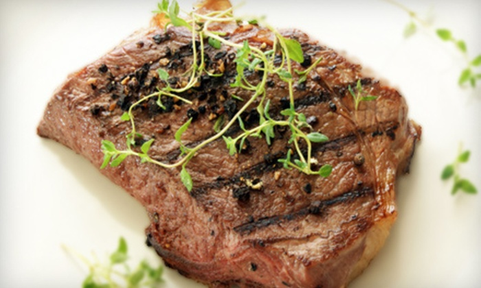 Finn and Porter - Downtown: Steakhouse Dinner and Wine for Two, Four, or Six at Finn and Porter