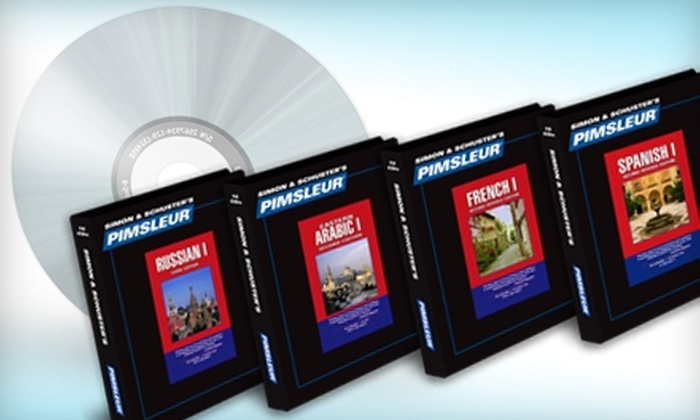 Pimsleur: $179 for One Comprehensive-Level Language Program from Pimsleur ($345 Value)