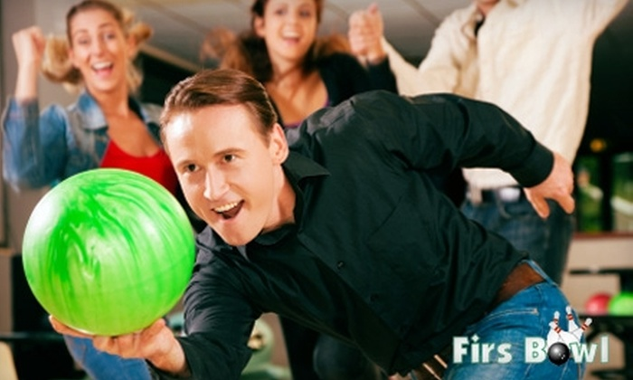 Firs Bowl - Eugene: $5 for Three Games of Bowling, Shoe Rental, and a Medium Soda at Firs Bowl