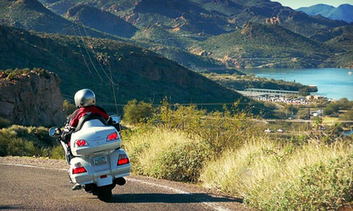 AZride.com - Tucson: 24-Hour Motorcycle Rental for One or Two from AZride.com (Up to 53% Off)