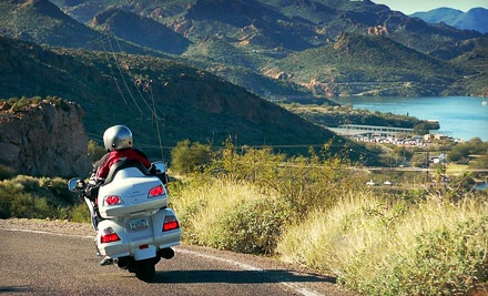 24-Hour Motorcycle Rental for 1 - AZride.com in Scottsdale
