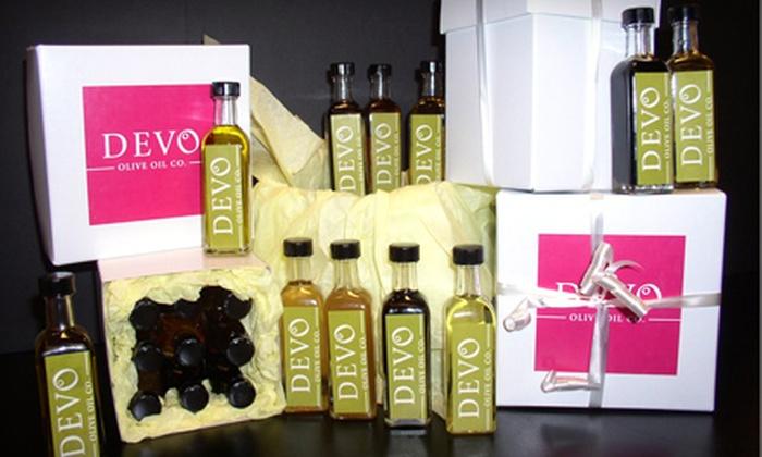Devo Olive Oil Co. - Branson: $20 for $40 Worth of Gourmet Olive Oil, Vinegar, and Pasta at Devo Olive Oil Co. in Branson