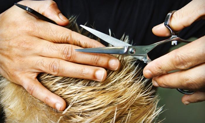 Salon Gity - Sugar Land: Salon Haircut, Keratin Blowout, or Haircut Plus Blowout at Salon Gity in Sugar Land