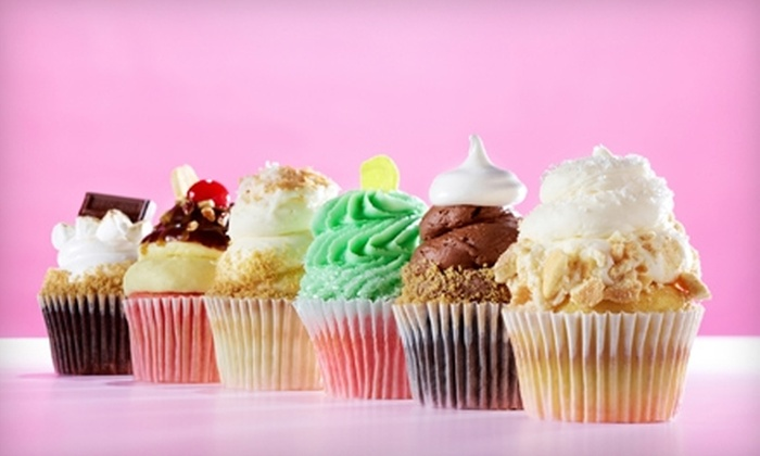 Gigi's Cupcakes - Imperial Heights: 9 for Six Gourmet Cupcakes at Gigi's Cupcakes ($18 Value)