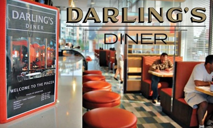 Darling's Diner - Northern Liberties/ Fishtown: $15 for $30 Worth of Breakfast, Lunch, Late-Night Eats, and Drinks at Darling's Diner