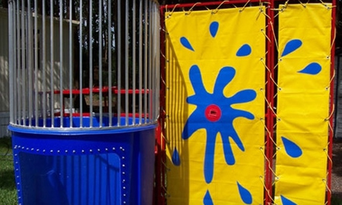 Springfield Party Rental - Multiple Locations: $62 to Rent Party Bounce House, Laser-Tag Equipment, or Dunk Tank from Springfield Party Rental ($125 Value)