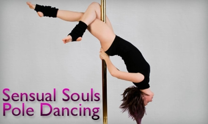 Sensual Souls Dance Studio - Oakwood: $35 for Three Pole-Dancing Classes at Sensual Souls Dance Studio (Up to $75 Value)