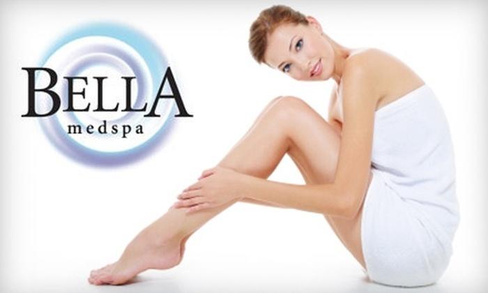 Bella Medspa - Multiple Locations: $499 for Three Laser Hair-Removal Treatments at Bella Medspa