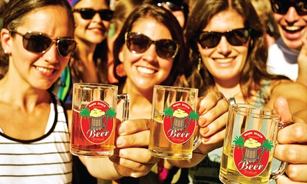 General or VIP Admission for One, Two, or Four to Miami Beach Summer Beer Festival on July 11 (Up to 63% Off)