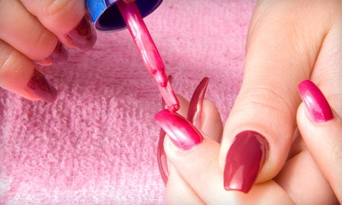 Princess Nails and Spa - Masterpiece Estates: $22 for a Shellac Chip-Free Manicure at Princess Nails and Spa on Rosedale ($45 Value)