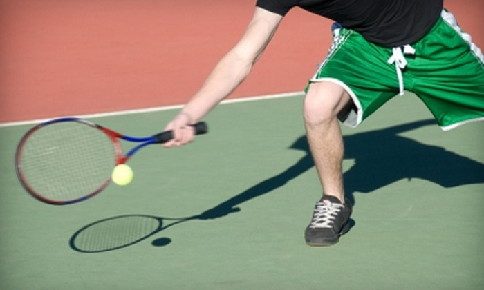Upland Tennis Club - Upland: One-Month Unlimited Membership to Upland Tennis Club. Two Options Available.