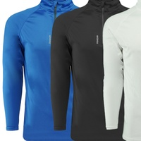 Groupon.com deals on Reebok Mens 1/4 Zip Active Pullover
