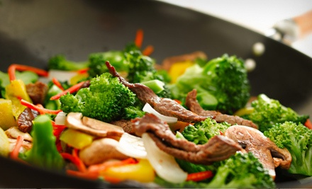 $30 Groupon for Indo-Asian Fare and Drinks - Masala Wok in Sherwood Park