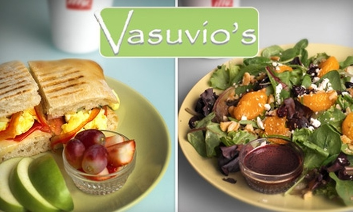 Vasuvio's Organic Gourmet Café - Rio Grande: $10 for $20 Worth of Organic Sandwiches, Salads, and Soups at Vasuvio's Organic Gourmet Cafe