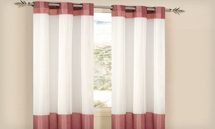 Duck River Textile Window-Panel Sets: $11.99 for Duck River Textile Window Panels (Up to $79.99 List Price). Multiple Styles & Colors Available. Free Returns.