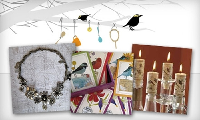 blonde birdie: $15 for $30 Worth of Jewelry, Accessories, and More from blonde birdie