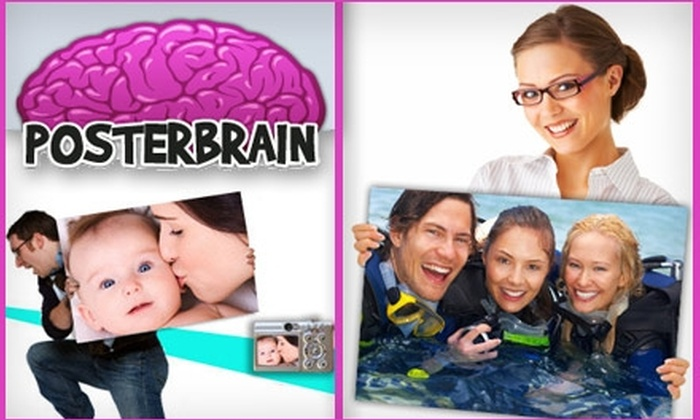 """PosterBrain.com - Columbus: $15 for a 24""""x36"""" Custom Poster from PosterBrain.com"""