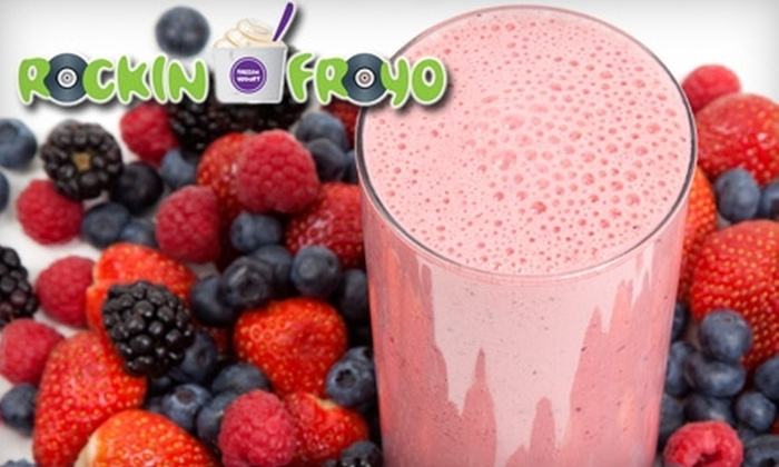 Rockin FroYo - West Hollywood: $5 for $10 Worth of Frozen Yogurt, Milkshakes, and Smoothies at Rockin Froyo