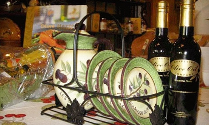 Grapevine Olive Oil Company - Grapevine: $10 for $20 Worth of Oils and Vinegars at Grapevine Olive Oil Company